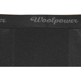 Woolpower Lite 3/4 Long Johns with fly Herre black